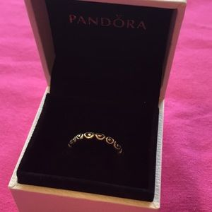 Retired Pandora stackable ring - sterling silver